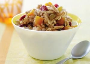 Quinoa Rice Granola